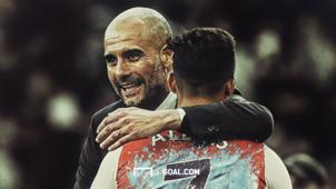 Pep Guardiola Alexis Sanchez HD