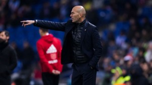 Zinedine Zidane Real Madrid La Liga