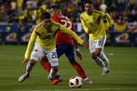 Juanfer Quintero Colombia - Costa Rica amistoso 2018