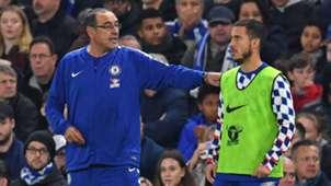 2019-01-23 Eden Hazard Maurizio Sarri