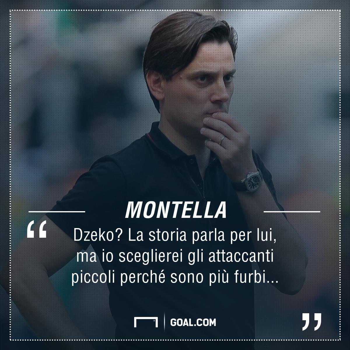 PS Montella Dzeko