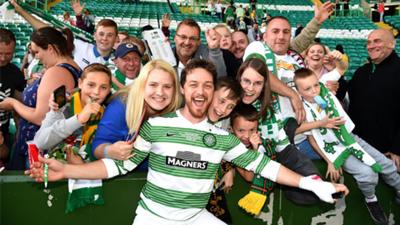 James McAvoy Celtic