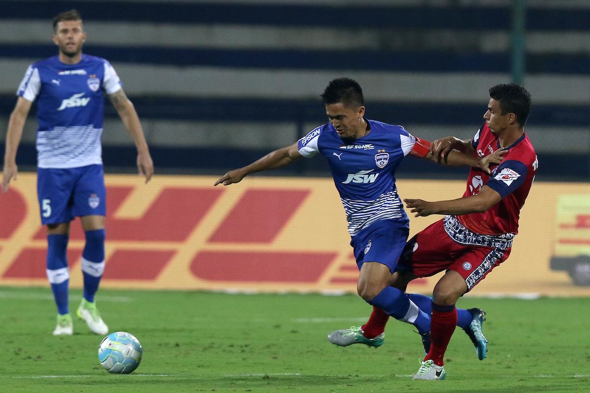 Chhetri Bengaluru Jamshedpur FC