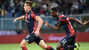 Piatek Kouame Genoa Chievo