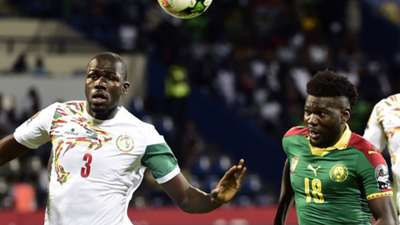 Kalidou Koulibaly of Senegal & Robert Ndip Tambe of Cameroon