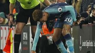 Dele Alli hamstring injury Tottenham Fulham
