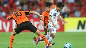 Chanathip Songkrasin Brisbane Roar v Muangthong United AFC Champions League 21022017