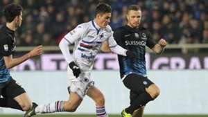 Patrick Schick Atalanta Sampdoria Serie A 22012017