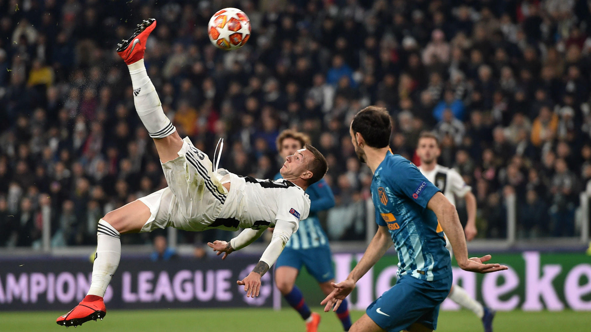Bernardeschi Juventus Atletico Madrid Champions League