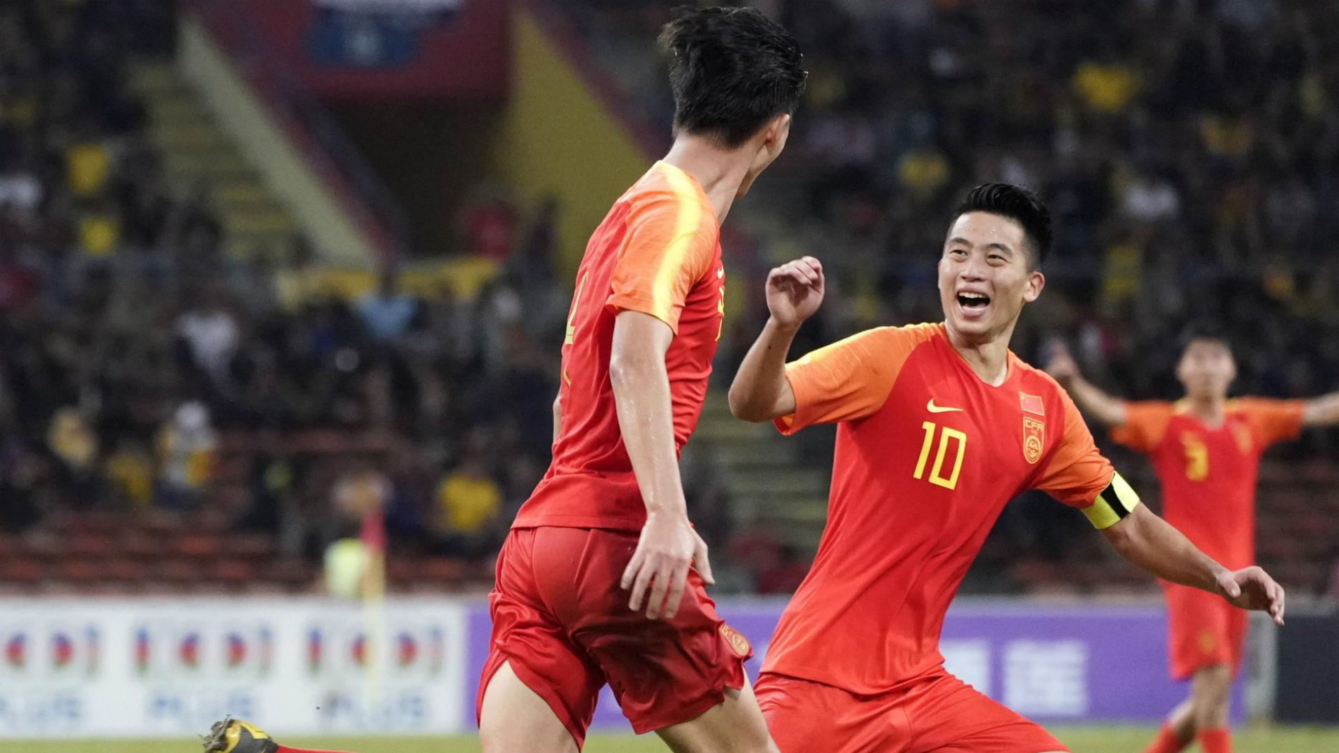 Jiang Sheng Long, Malaysia U23 v China U23, AFC U23 Championship qualifier, 26 Mar 2019