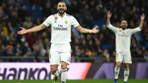 KARIM BENZEMA REAL MADRID RAYO VALLECANO LALIGA