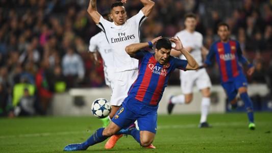 Luis Suarez Barcelona PSG Champions League