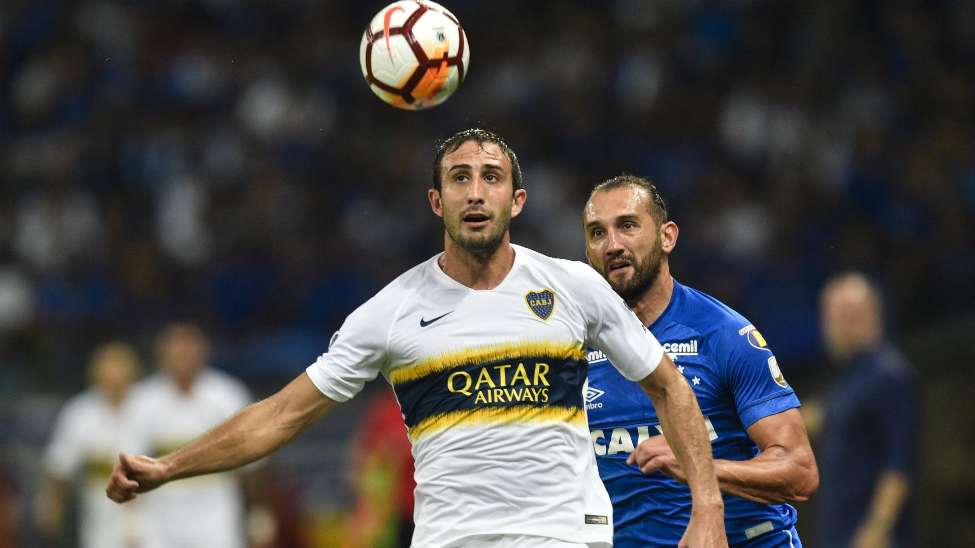 Izquierdoz Barcos Cruzeiro Boca Copa Libertadores 04102018