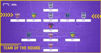 ISL 2017-18 Team of the Round 12