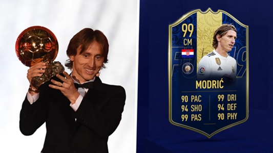 Best FUT Card Of All Time FIFA 19 Team Of The Year Luka Modric Has
