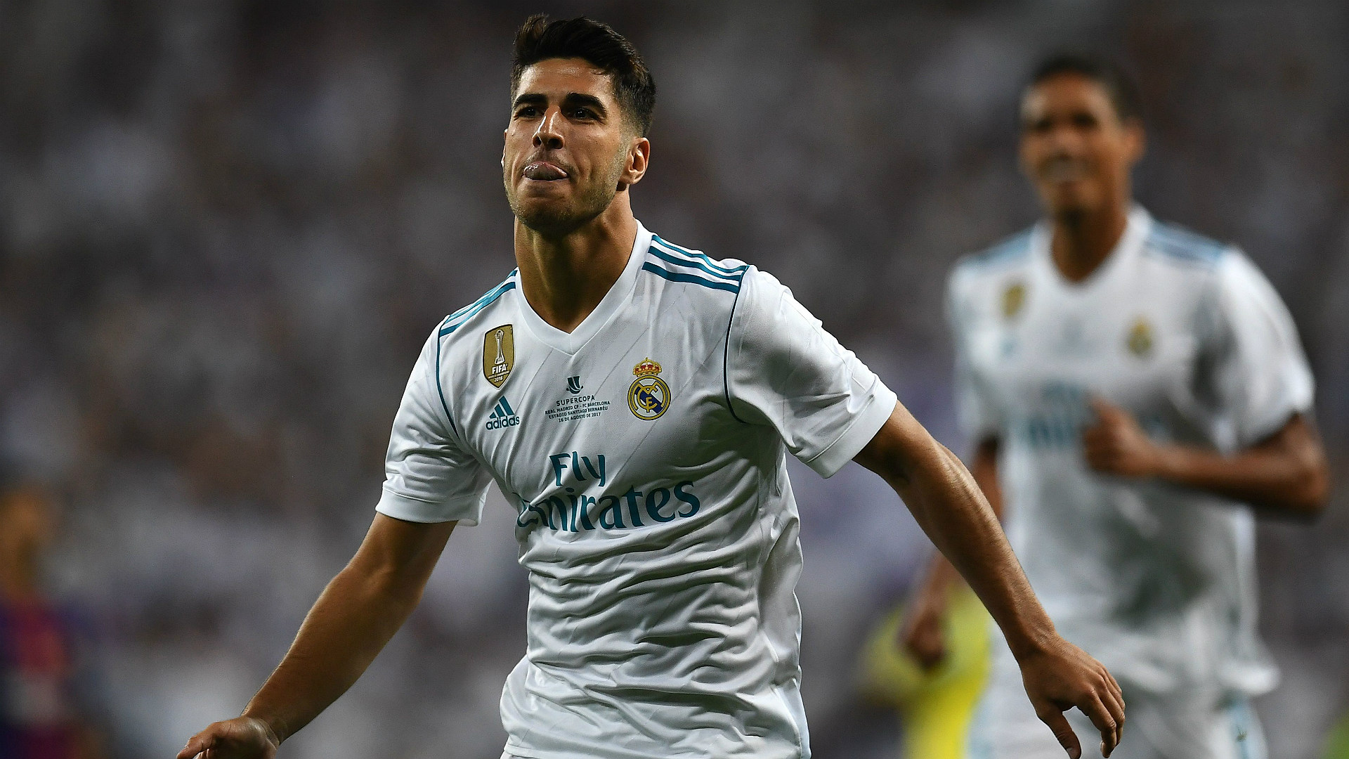 Marco Asensio Real Madrid Barcelona Supercopa 16082017