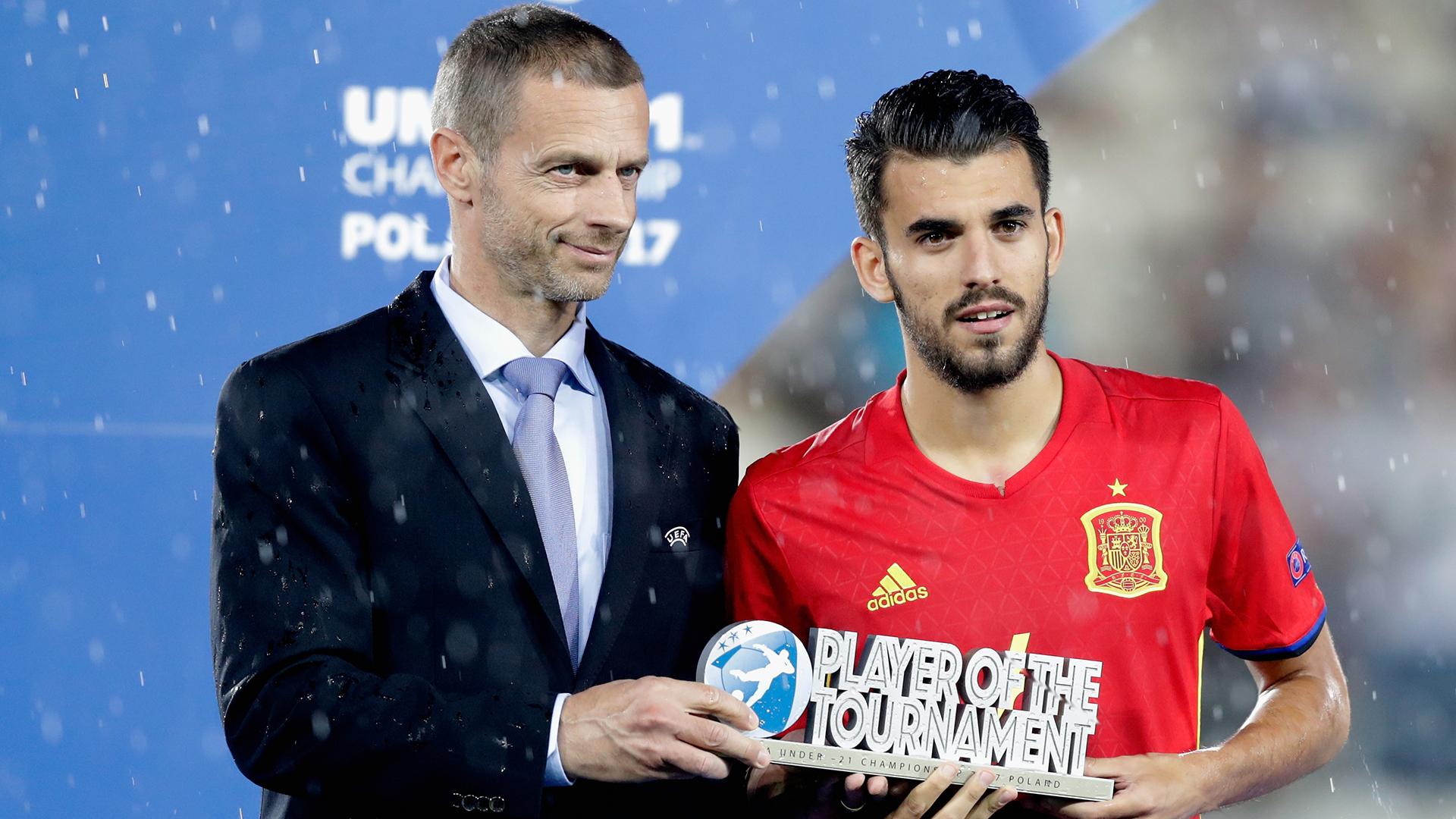 Dani Ceballos Spain U21s