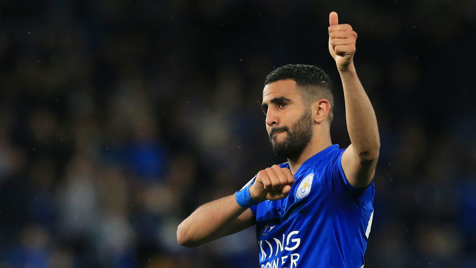 Riyad Mahrez joins Manchester City from Leicester