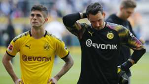 Christian Pulisic Roman Buerki Borussia Dortmund Bundesliga 2019