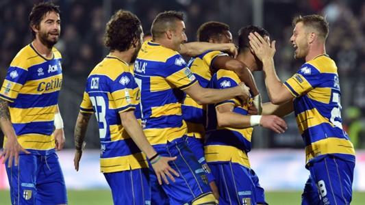 Ascoli Parma celebrating