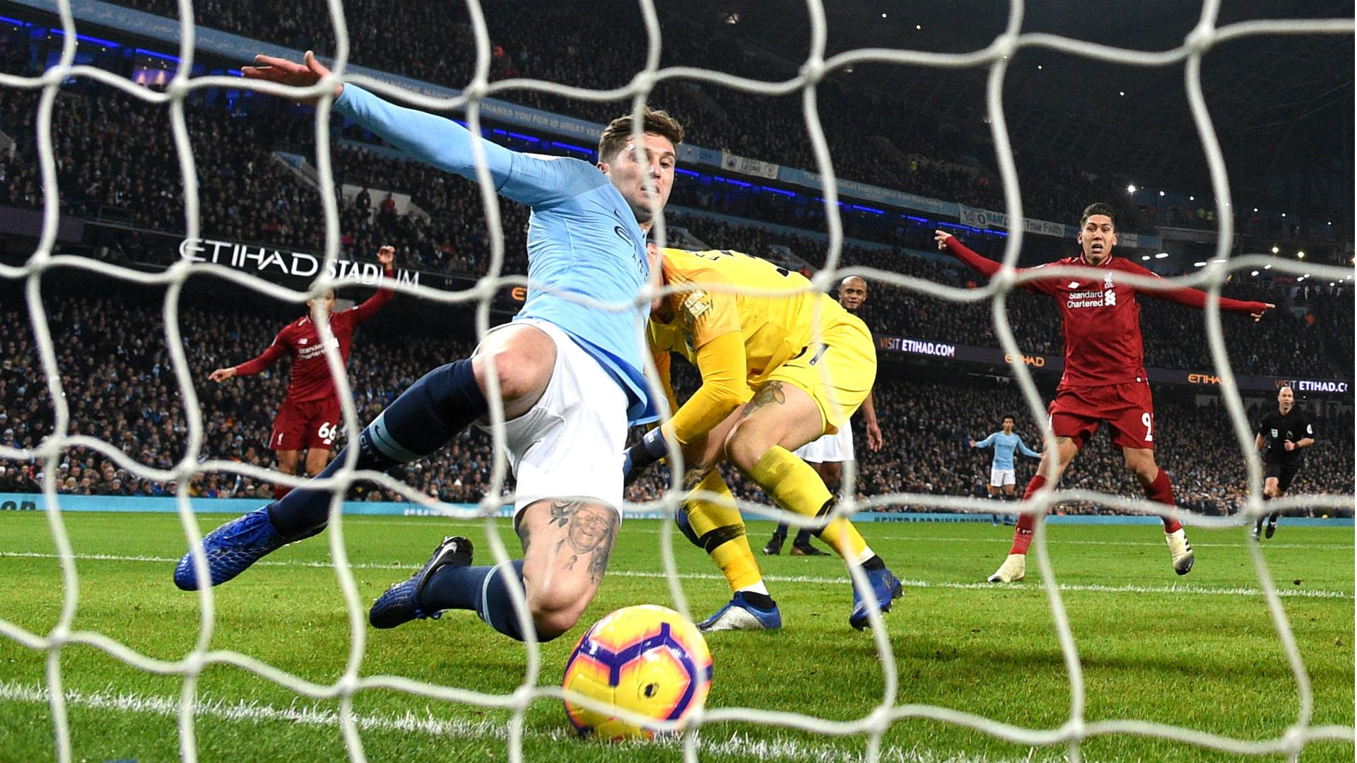 John Stones Manchester City Liverpool