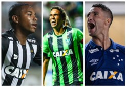 GFX Robinho Rafael Lima Thiago Neves Atlético-MG América-MG Cruzeiro