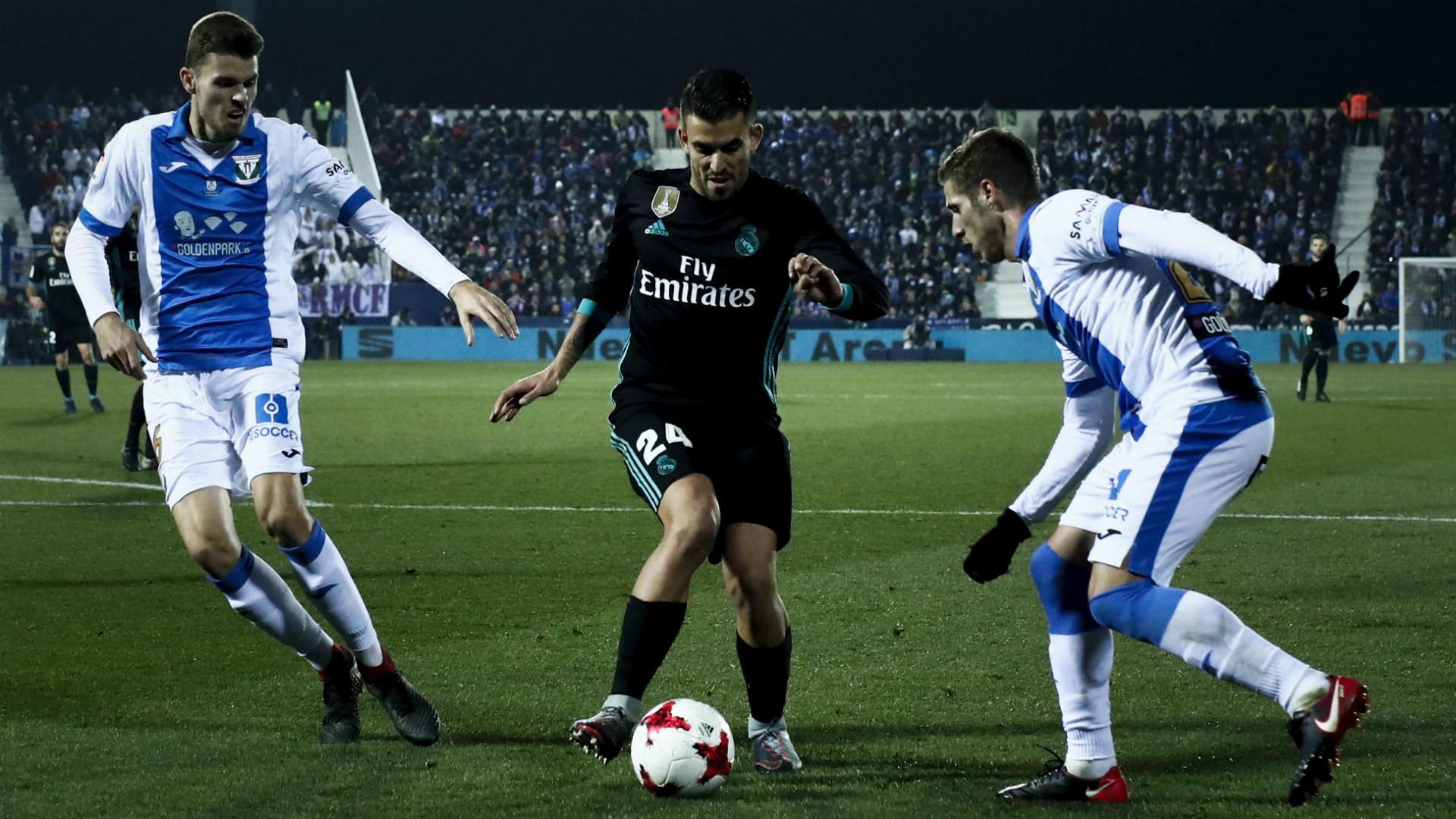 Dani Ceballos Leganes Real Madrid Copa del Rey