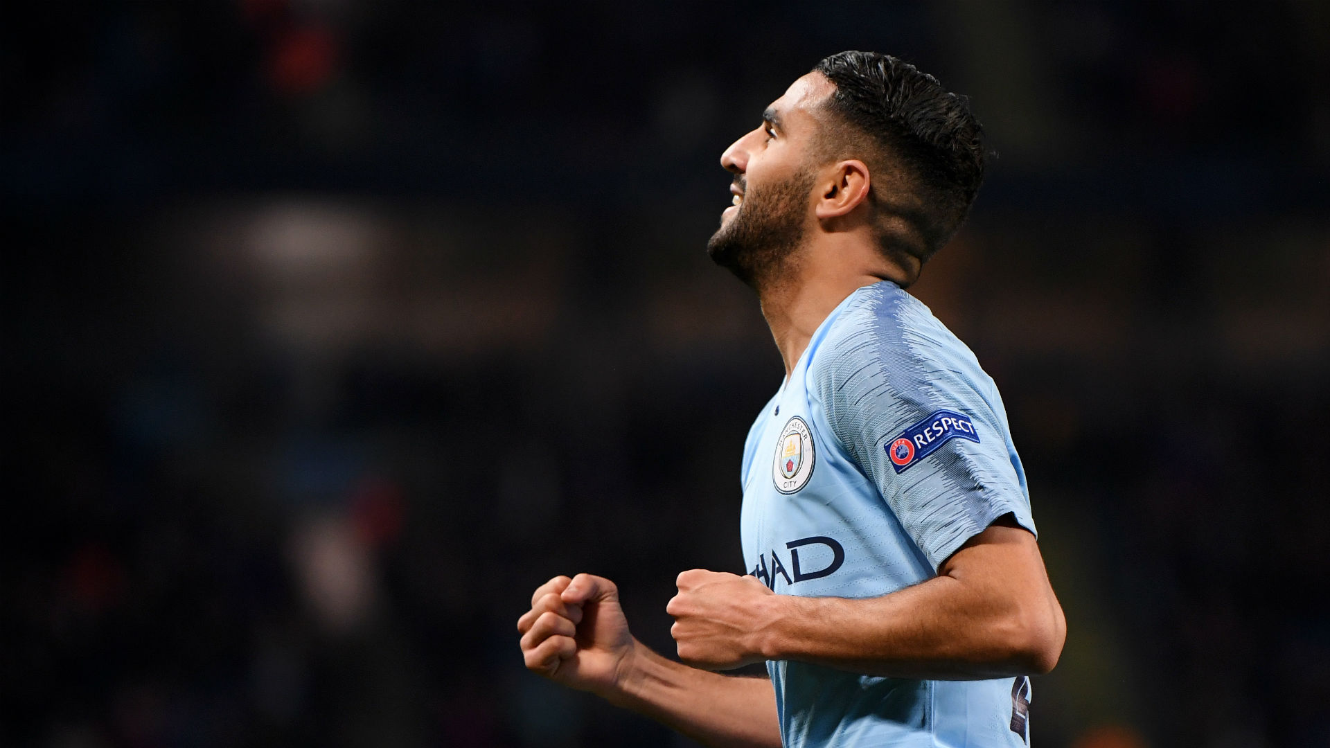 Manchester City's Mahrez always wanted to win the Uefa Champions League