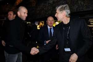 Zinedine Zidane & Arsene Wenger 2009
