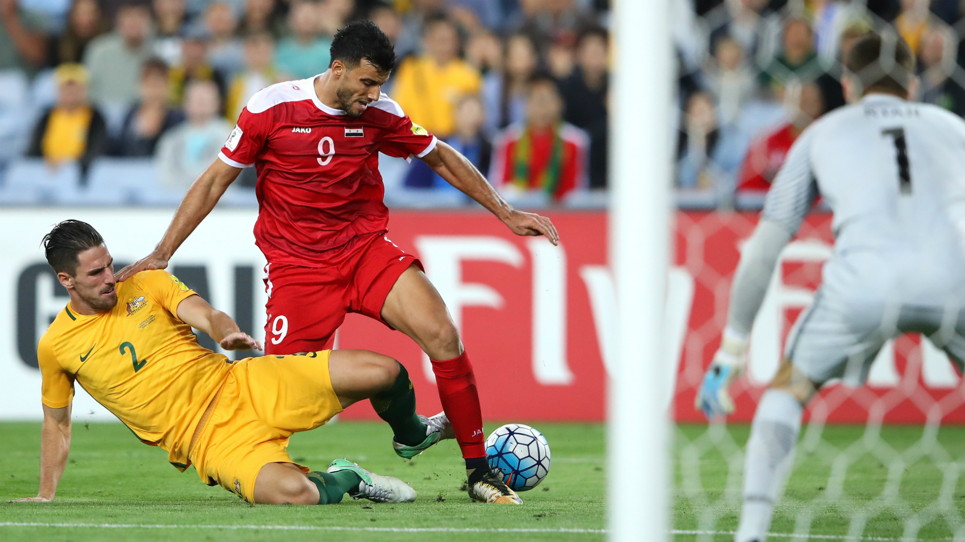 Rogic lifts Australia to 'helter-skelter' win over Syria