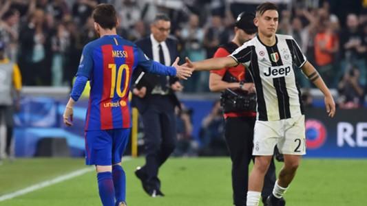 Messi Dybala Juventus Barcellona Champions League
