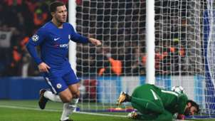 Eden Hazard Chelsea Roma