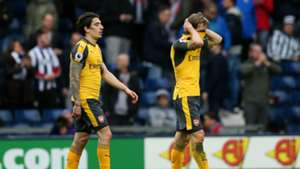 Arsenal West Brom Hector Bellerin Nacho Monreal