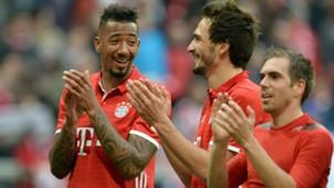 Jerome Boateng Mats Hummels FC Bayern 11032017
