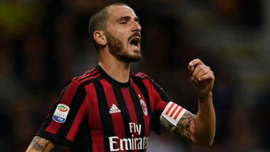 Leonardo Bonucci Milan SPAL Serie A