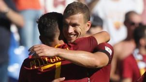 Lorenzo Pellegrini Edin Dzeko Roma 2018-19