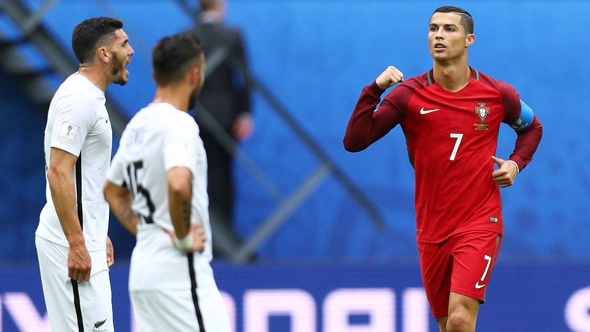 Portugal New Zealand Cristiano Ronaldo Confederations Cup