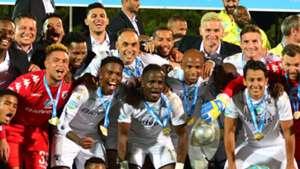 Bidvest Wits celebrate with Telkom Knockout trophy