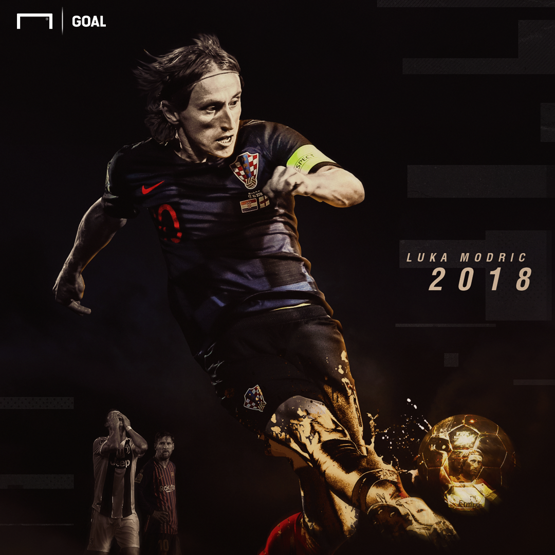 Modric Ballon d'Or graphic