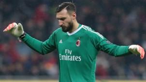 Antonio Donnarumma Milan Italian Cup