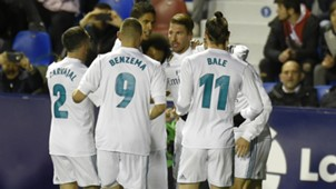 Bale Cristiano Ramos Levante Real Madrid LaLiga