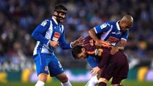 Lionel Messi David Lopez Espanyol Barcelona Copa del Rey 17012018