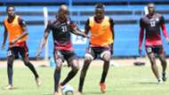 Harambee Stars midfielder Kenneth Muguna