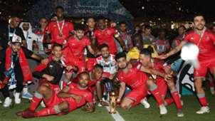 Al Duhail celebtate Emir Cup