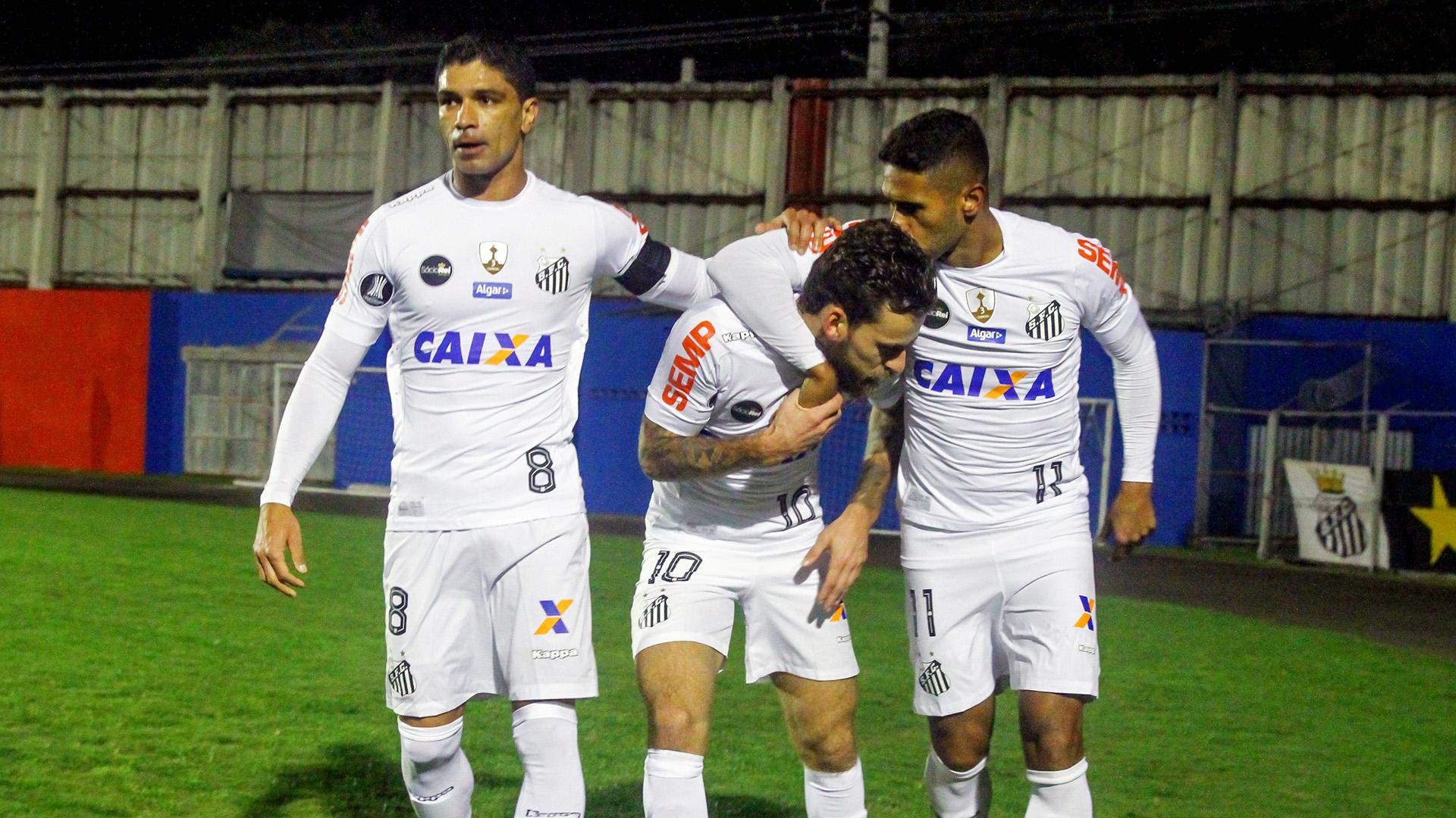 Kayke Lucas Lima Renato Atletico-PR Santos Libertadores 05072017