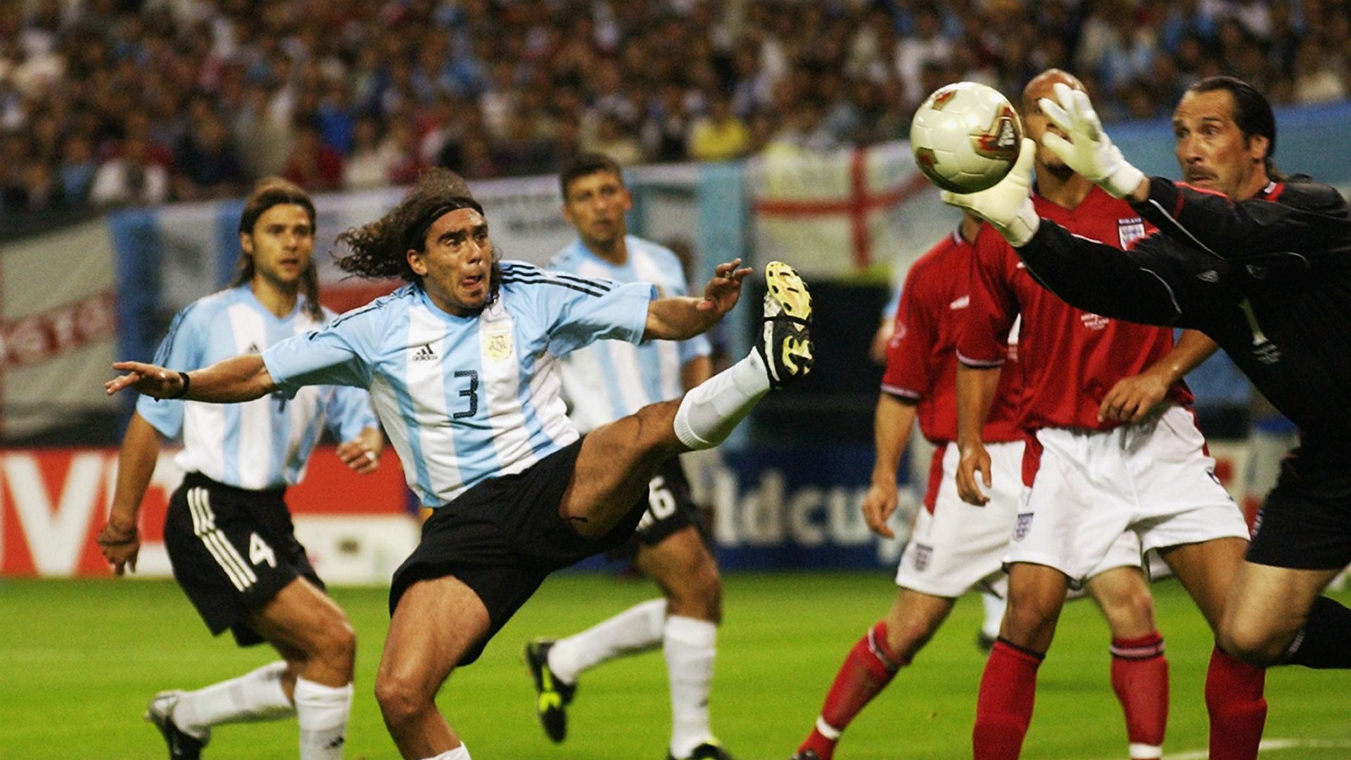 Argentina Inglaterra 2002