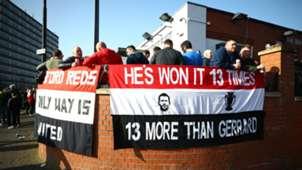 Man Utd fans vs Liverpool 2018-19