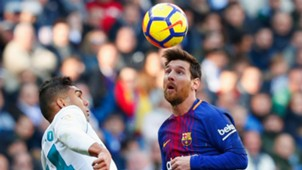 Casemiro Real Madrid Lionel Messi Barcelona