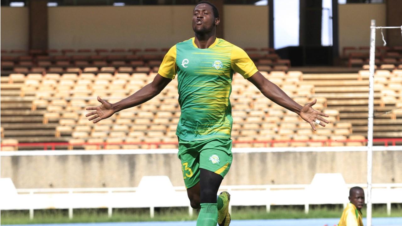 Kariobangi Sharks striker Masoud Juma.