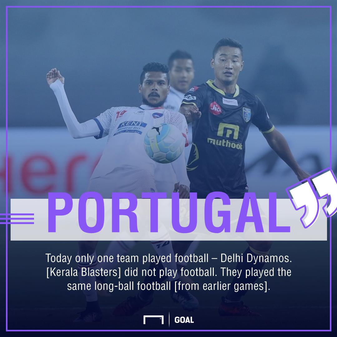 Delhi Dynamos Kerala Blasters Portugal